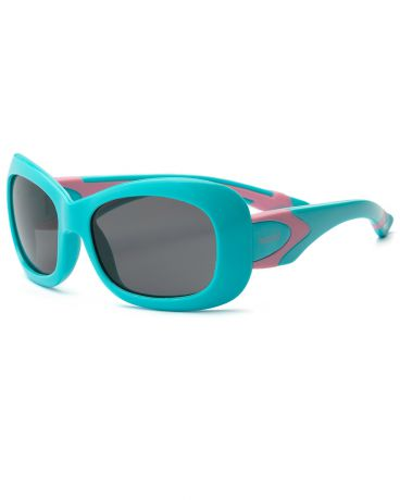 Real Kids Shades для девочки 7-12 лет Breeze P2 Aqua/Pink