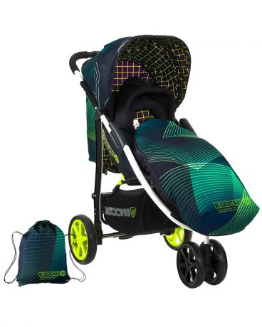 Koochi Прогулочная Pushmatic green hyperwave
