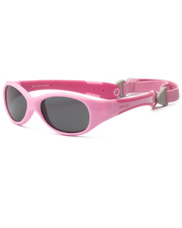 Real Kids Shades для новорожденных Explorer Pink/Hot Pink