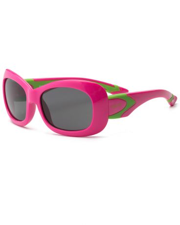 Real Kids Shades для девочки 7-12 лет Breeze Cherry Pink/Lime