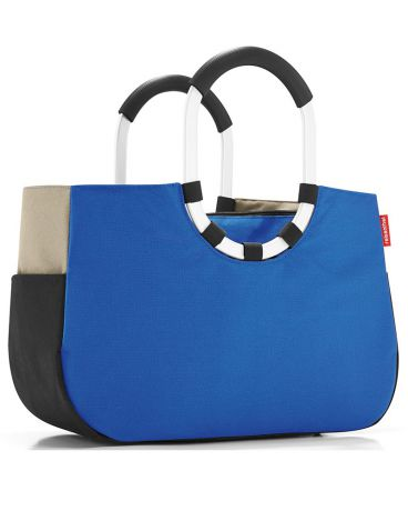 FineDesign Loopshopper M patchwork royal blue