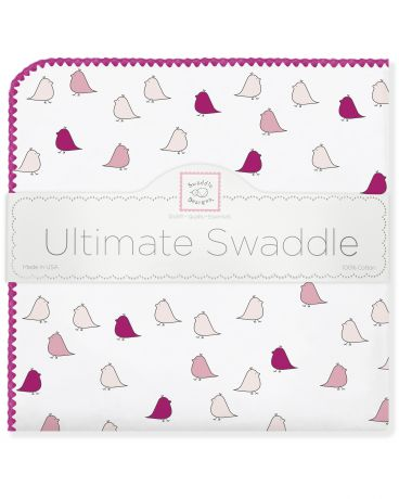 SwaddleDesigns Little Chickies фуксия