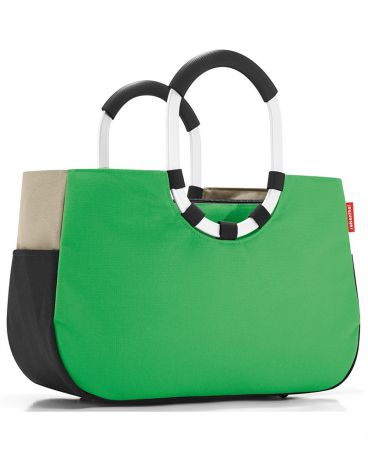 FineDesign Loopshopper M patchwork green