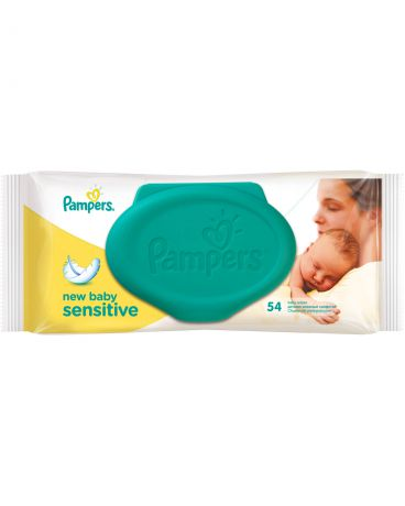 Pampers New Baby Sensitive 54 шт