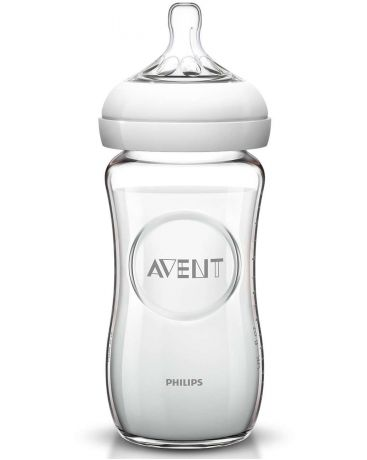 Avent Philips стекло 240 мл Natural