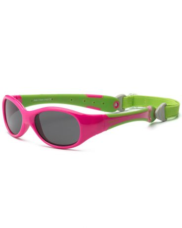 Real Kids Shades для новорожденных Explorer Cherry Pink/Lime