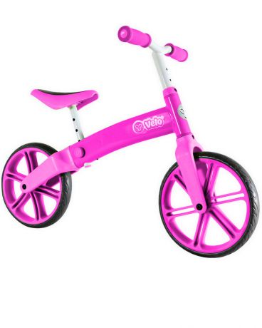 Y-bike Y-volution Y-velo Balance bike pink