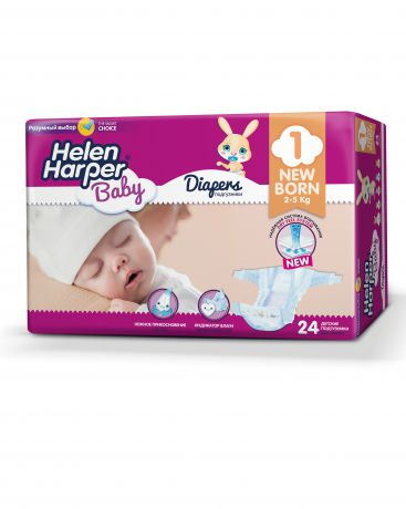 Helen Harper Baby New Born 2-5 кг (24 шт)