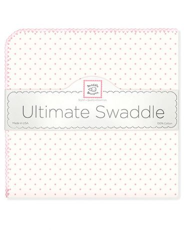 SwaddleDesigns Pink w/Pink Dot