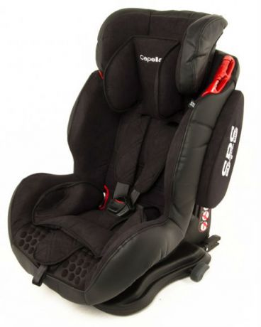 Capella 1-2-3 Isofix SPS black