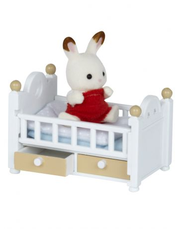 Sylvanian Families Малыш и детская кроватка Sylvanian Families (Сильвания Фэмили)