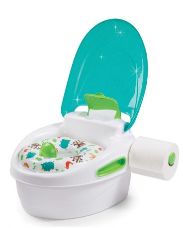 Summer Infant 3 в 1 Step-By-Step Potty голубой
