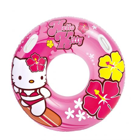 Intex надувной hello kitty