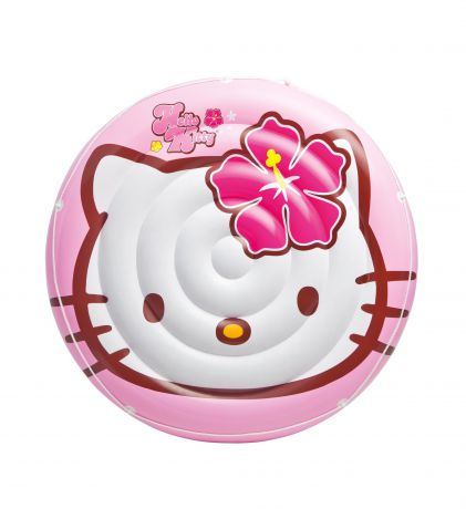 Intex надувной hello kitty 137см