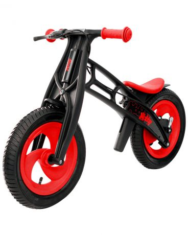 R-Toys Hobby-bike RT FLY А-шины елочка Plastic red