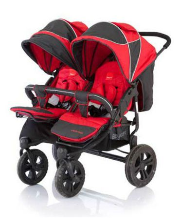 Baby Care для двойни Cruze Duo red