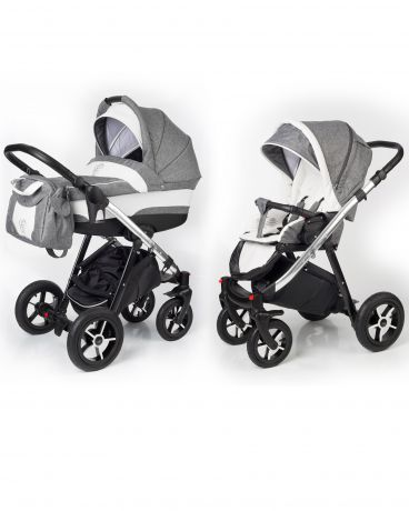 Esspero Newborn Lux шасси Chrome Denim