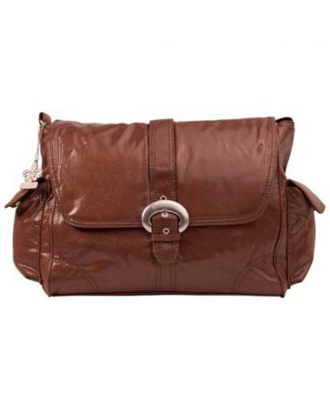 Kalencom Buckle bag Fire & Ice chocolate