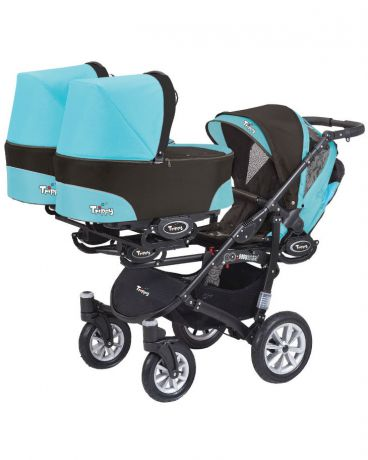 BabyActive для тройни 2 в 1 Trippy City Blue