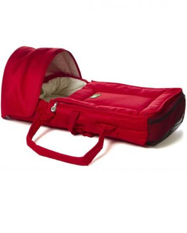 Valco Baby Soft Bassinet red