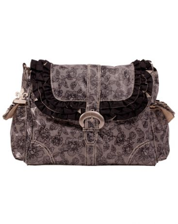 Kalencom Buckle bag Coated Miss Prissy Lacey B&W