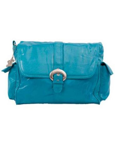 Kalencom Buckle bag Fire & Ice Turquoise