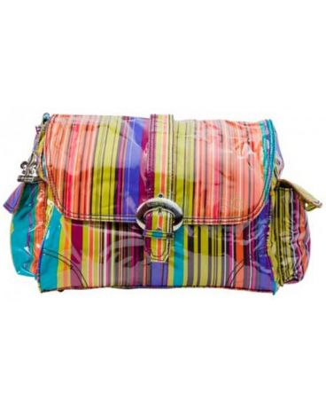 Kalencom Buckle bag Spice stripes