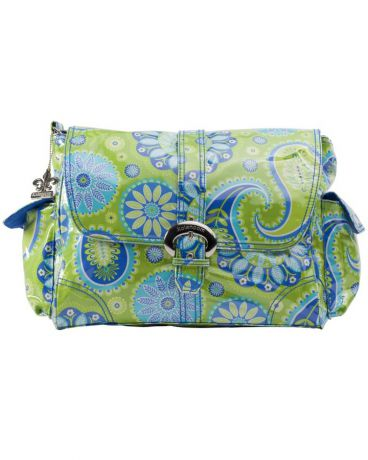 Kalencom Buckle bag Gypsy Paisley Green Lamin