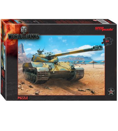 Step Puzzle World of Tanks 160 шт