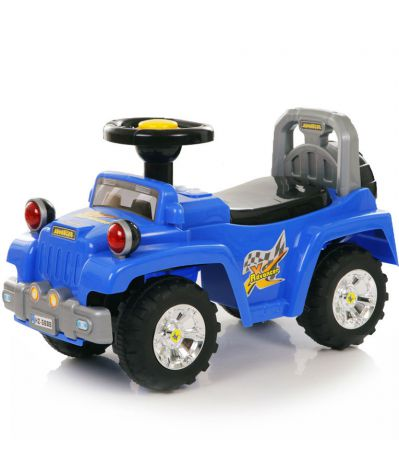 Baby Care Super Jeep blue