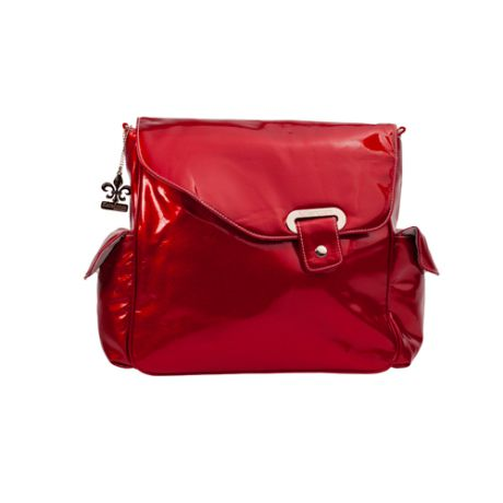 Kalencom New Flap Bag Irredescent Pattent red