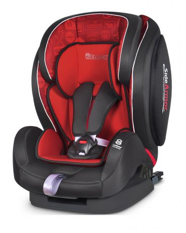 Welldon Encore Fit SideArmor & CuddleMe Isofix Traffic Red