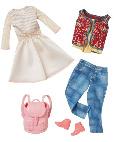 Barbie модной для Barbie Cream and Jeans