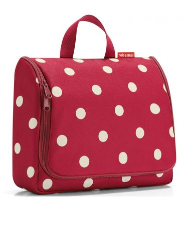 Reisenthel Toiletbag XL ruby dots
