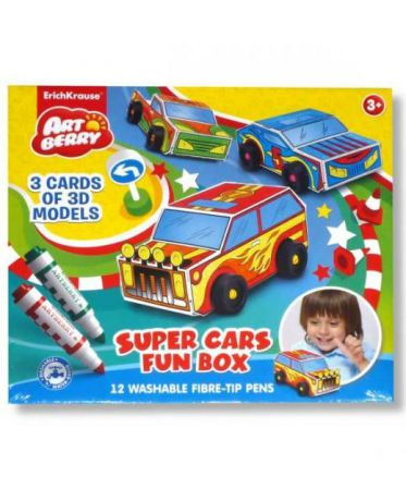 Erich Krause Super Cars Fun box Artberry