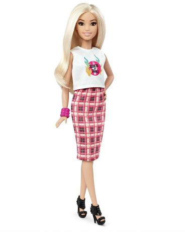 Barbie Barbie Игра с модой Rock N Roll Plaid