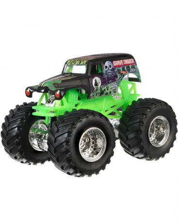 Hot Wheels Monster Jam Grave Digger черная