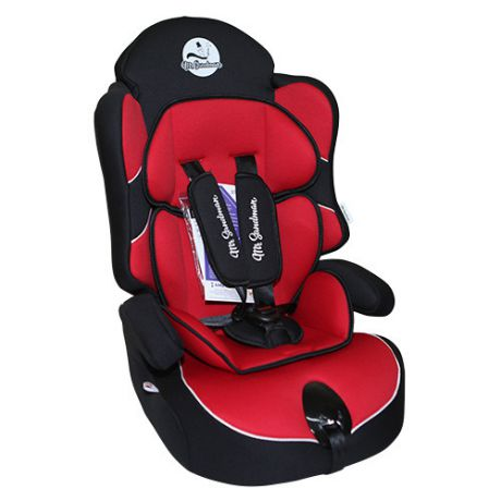 Mr Sandman Little Passenger Isofix черное/красное
