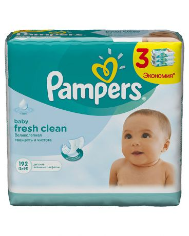 Pampers Baby Fresh 192 шт