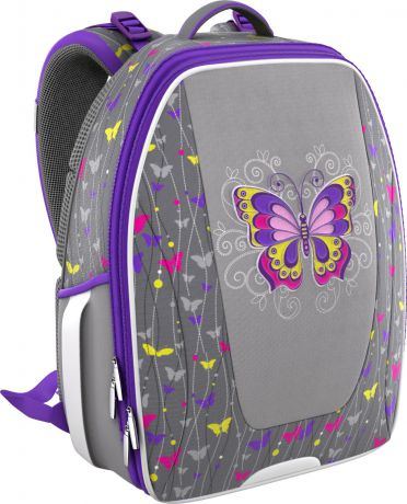 Erich Krause с эргономичной спинкой Fairy Butterfly Multi Pack mini