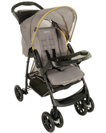 Graco прогулочная Mirage Yellow Gray