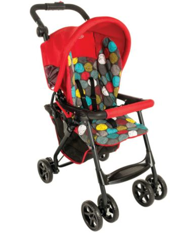 Graco прогулочная CitiSport Lite Bubbles