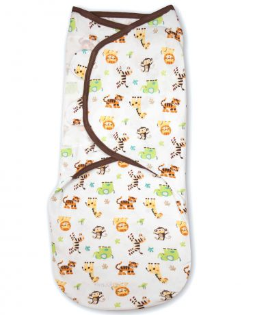 Summer Infant SwaddleMe S/M джунгли