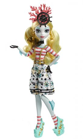 Monster High Пиратская авантюра Лагуна Блю с питомцем