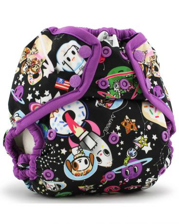 Kanga Care One Size Snap Cover tokiSpace/Orchid