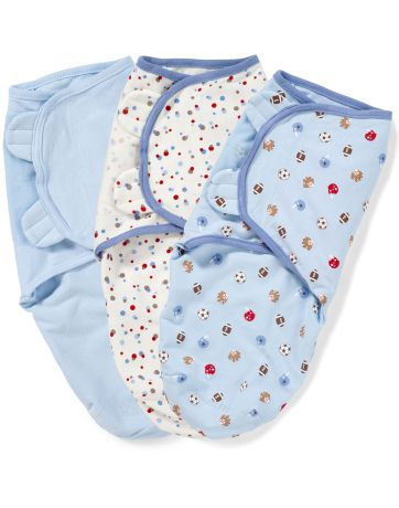 Summer Infant SwaddleMe 3 шт S/M спорт