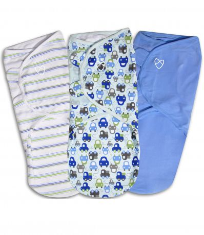 Summer Infant SwaddleMe 3 шт L машинки