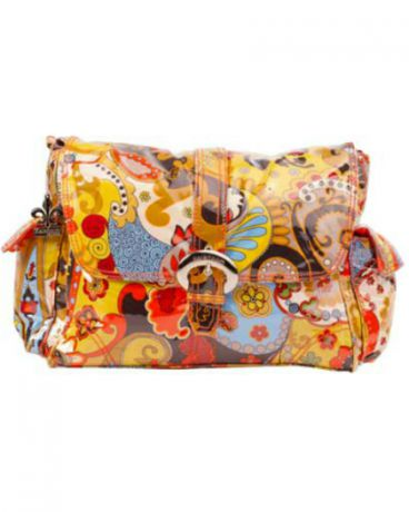 Kalencom Laminated Buckle Bag hannah`s paisley