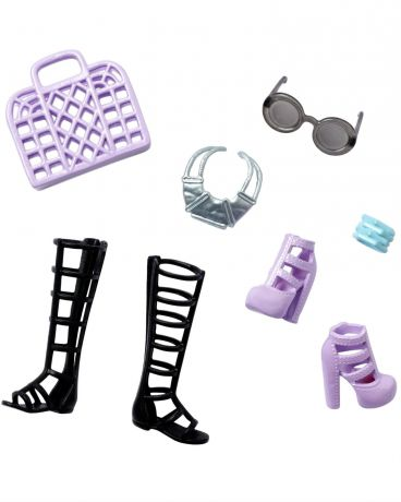 Barbie модные Barbie Black and Purple