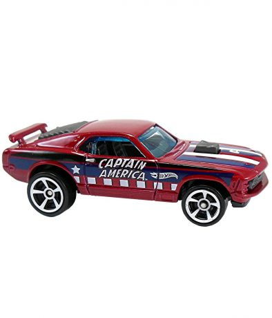 Hot Wheels Капитан Америка 3 70 Ford Mustang Mach1